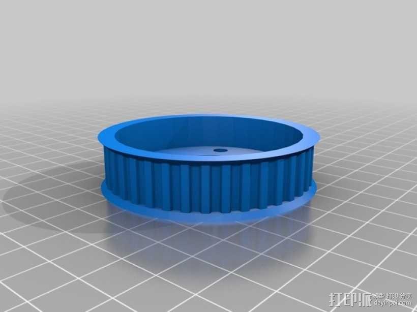 盘毂 3D模型  图1