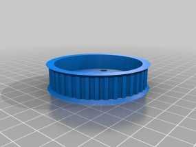盘毂 3D模型