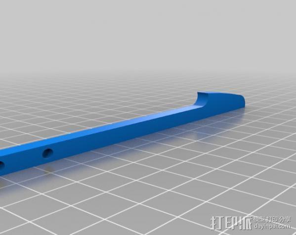穿孔卡阅读器 3D模型  图4