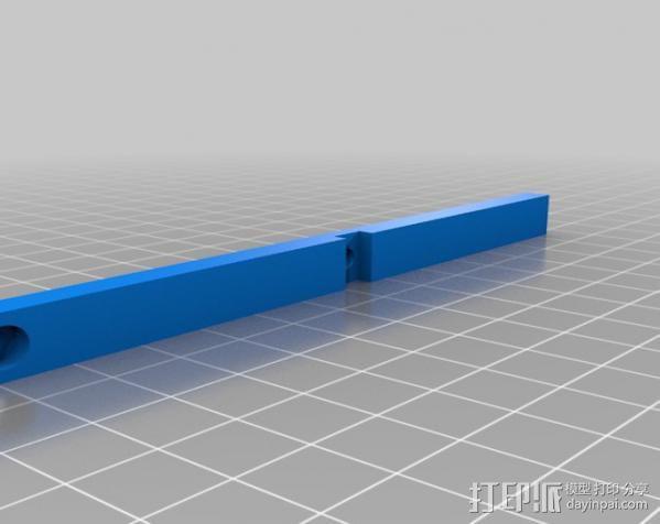 穿孔卡阅读器 3D模型  图5