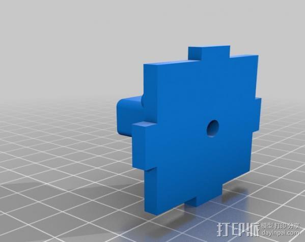 穿孔卡阅读器 3D模型  图6