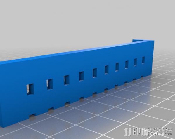 穿孔卡阅读器 3D模型  图9