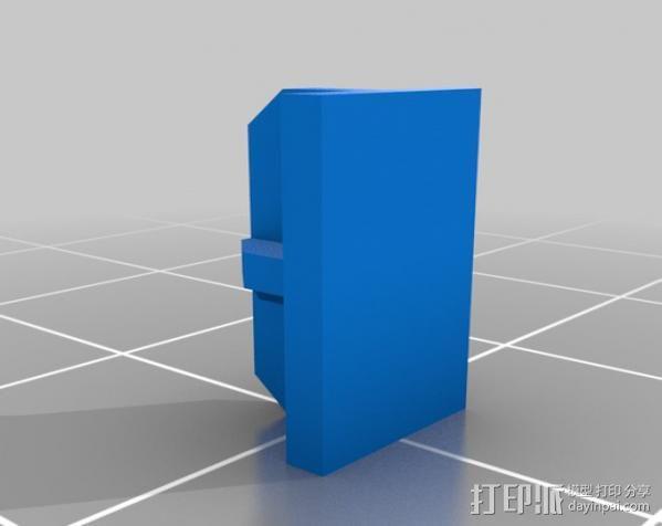 穿孔卡阅读器 3D模型  图8
