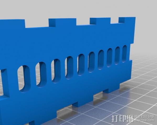 穿孔卡阅读器 3D模型  图12