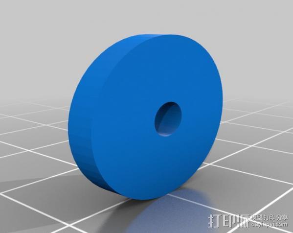 穿孔卡阅读器 3D模型  图13