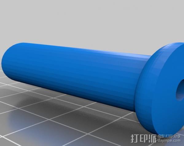 穿孔卡阅读器 3D模型  图14