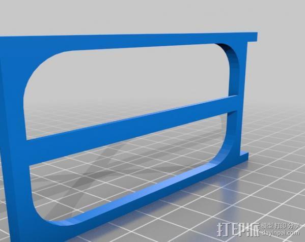 穿孔卡阅读器 3D模型  图16
