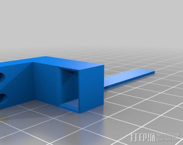 穿孔卡阅读器 3D模型  图18