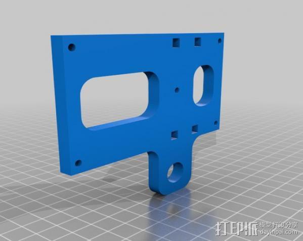 穿孔卡阅读器 3D模型  图17