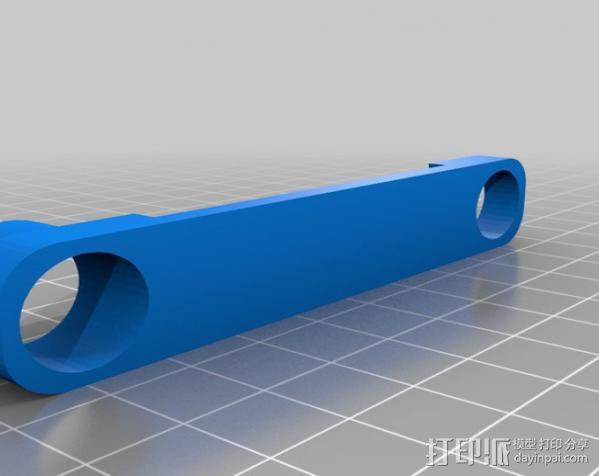 穿孔卡阅读器 3D模型  图19
