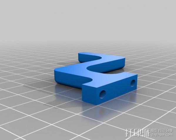 穿孔卡阅读器 3D模型  图20