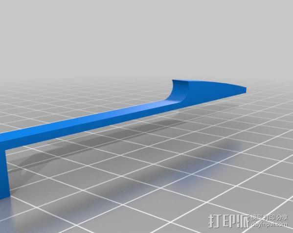 穿孔卡阅读器 3D模型  图21