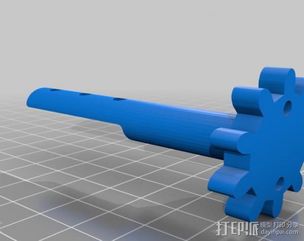 穿孔卡阅读器 3D模型  图22