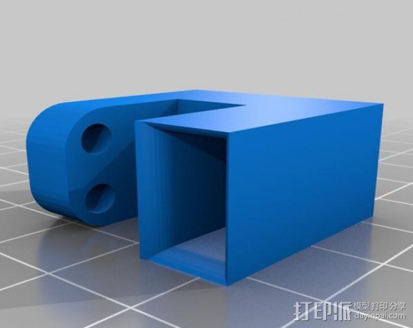 穿孔卡阅读器 3D模型  图23