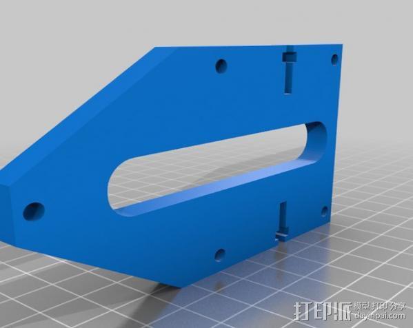 穿孔卡阅读器 3D模型  图25