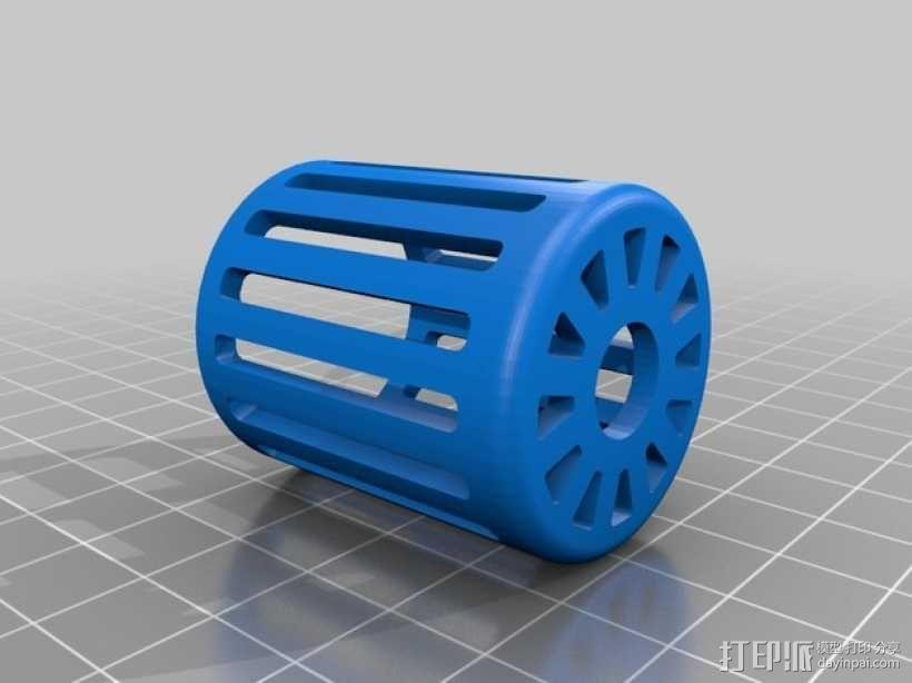 风力涡轮机 3D模型  图4