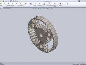 行星齿轮 3D模型