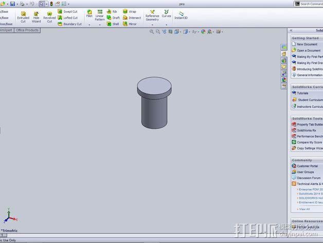 行星齿轮 3D模型  图2