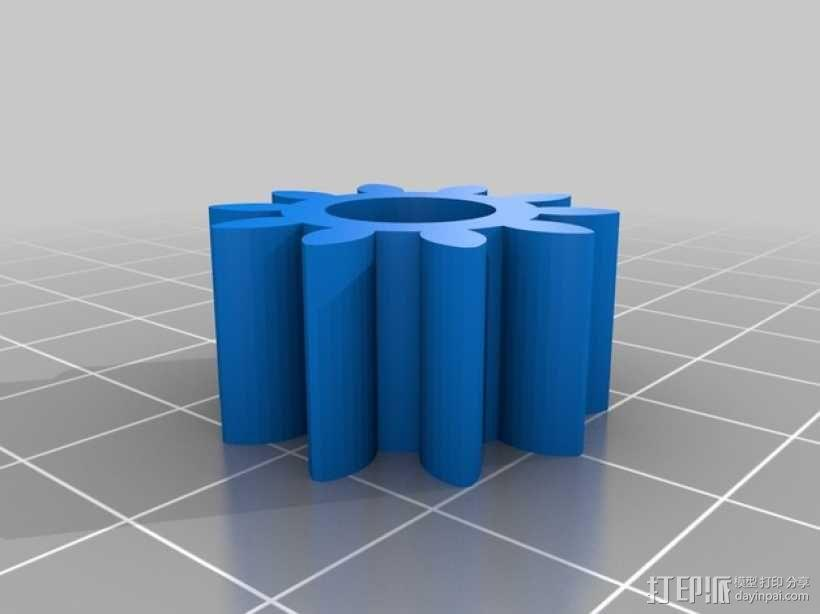 行星齿轮 3D模型  图10