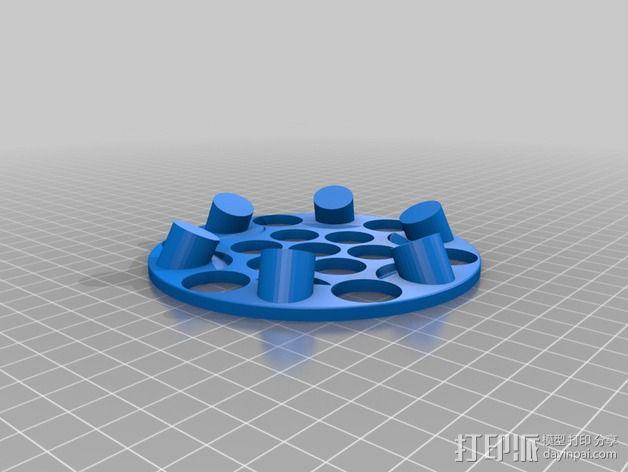 悬浮的飞碟 3D模型  图3