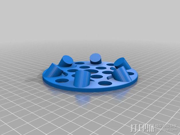 悬浮的飞碟 3D模型  图5