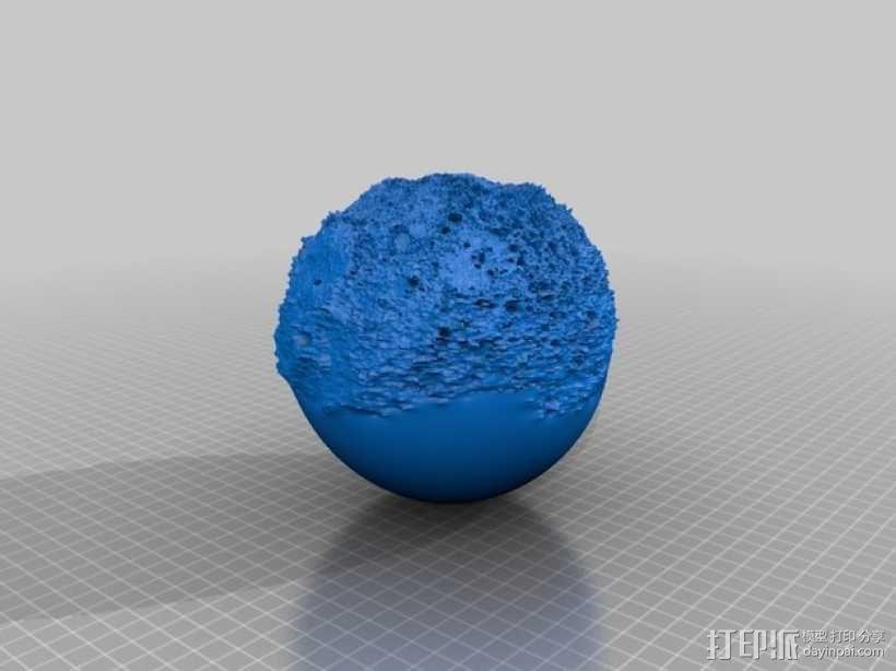 水星模型 3D模型  图1