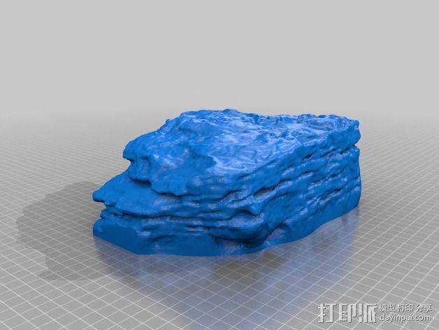 砂岩模型 3D模型  图1