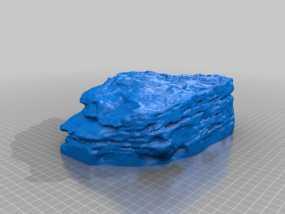 砂岩模型 3D模型
