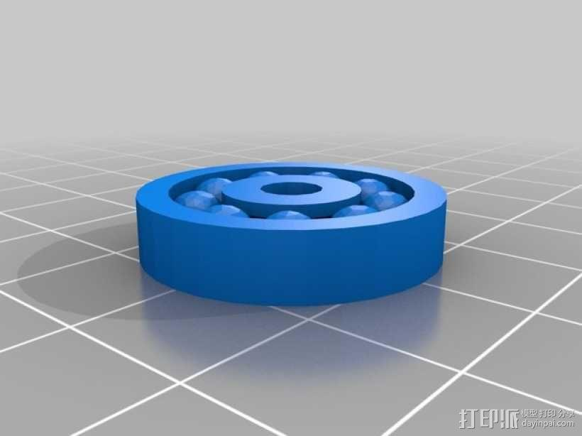 滚珠轴承 3D模型  图1