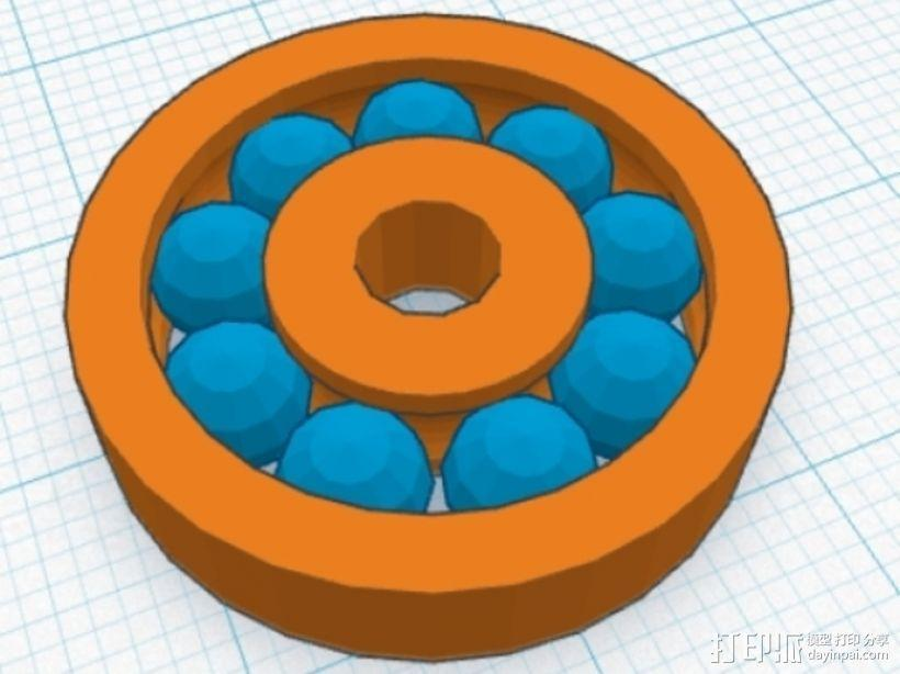 滚珠轴承 3D模型  图3