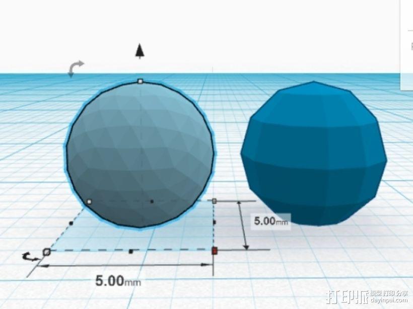 滚珠轴承 3D模型  图2