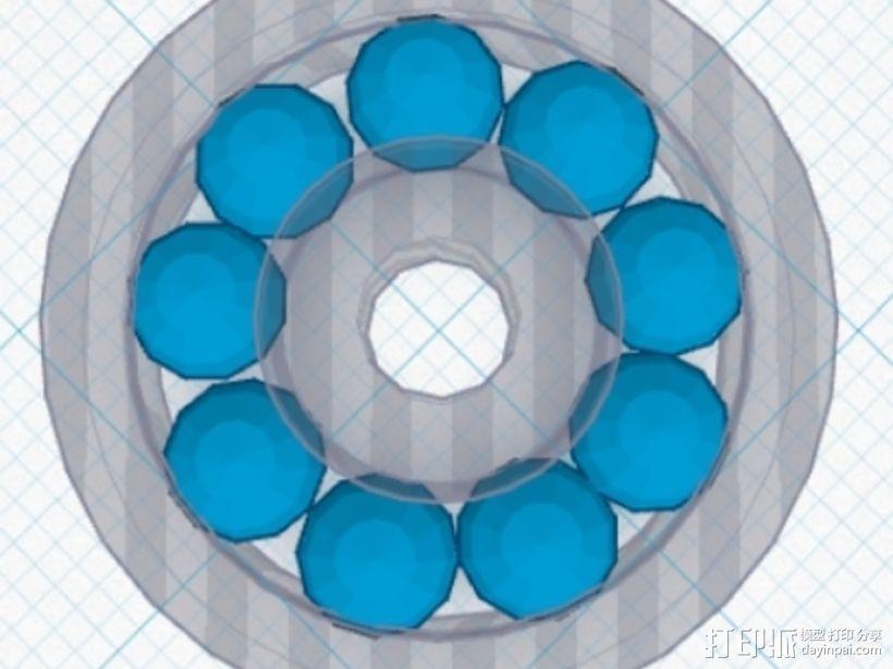 滚珠轴承 3D模型  图5
