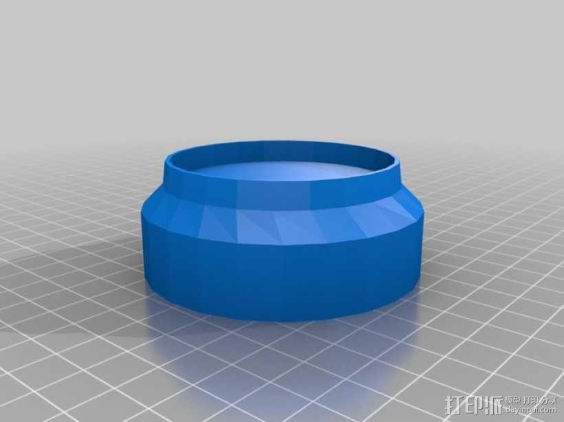 放射性样品盒 3D模型  图2
