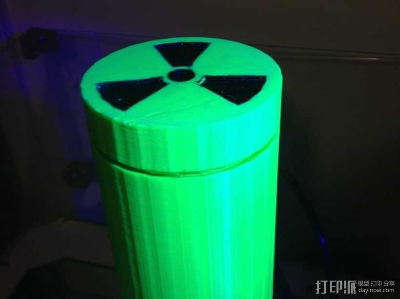 放射性样品盒 3D模型  图3