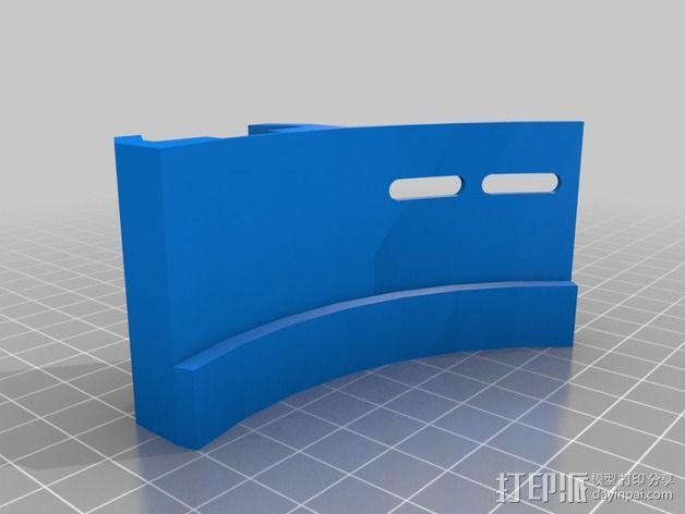 寻星镜适配器 3D模型  图3