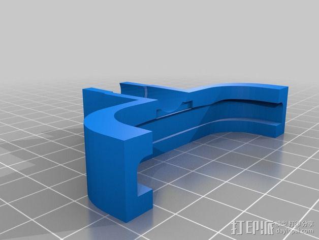 耳镜适配器 3D模型  图2