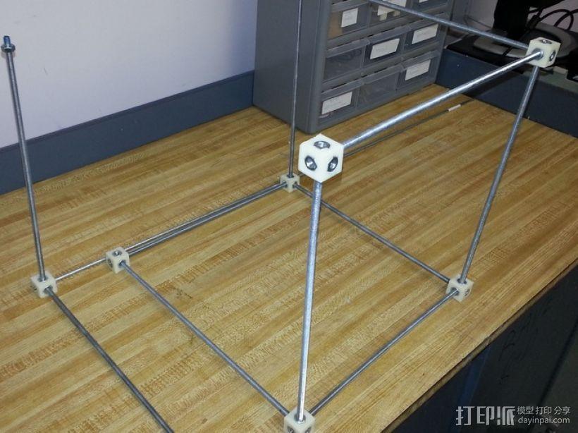螺杆连接器  3D模型  图1