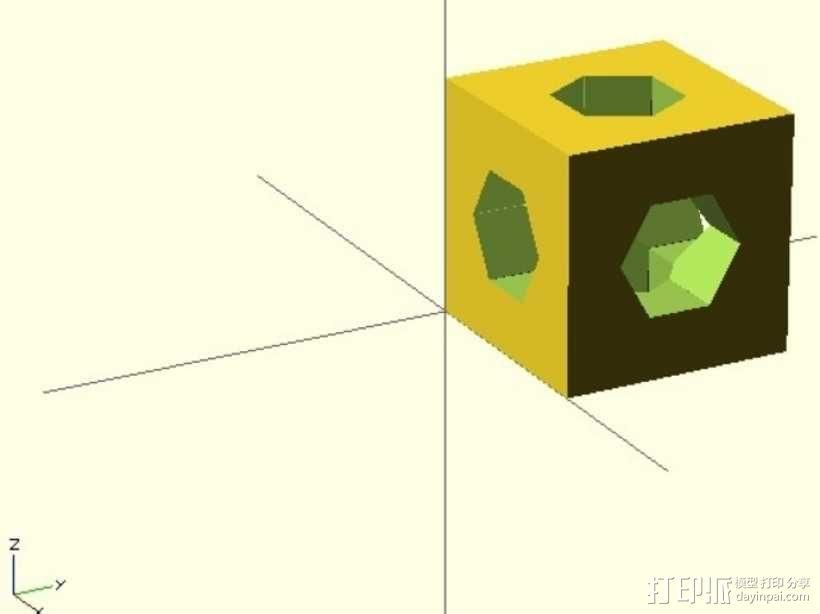 螺杆连接器  3D模型  图2