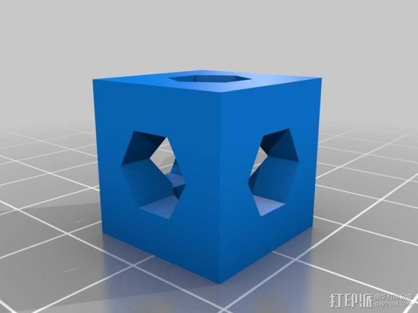螺杆连接器  3D模型  图4