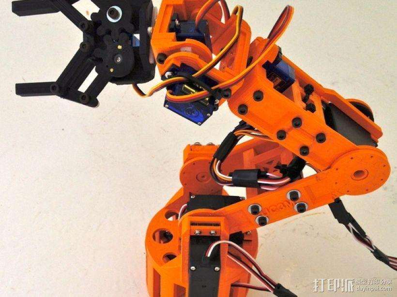 机器人手臂 3D模型  图2