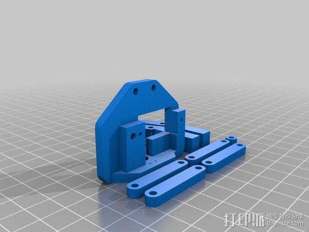 机器人手臂 3D模型  图30