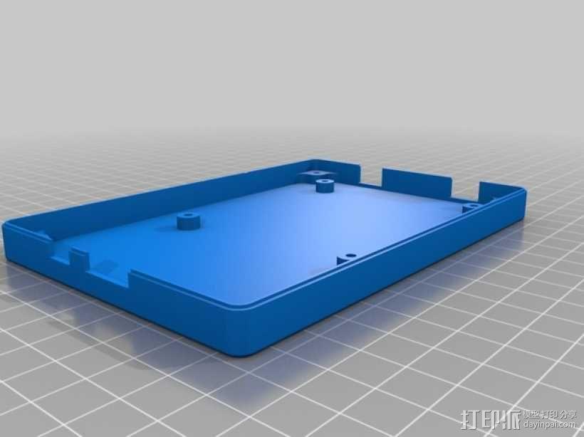 bladeRF电路板盒子 3D模型  图2