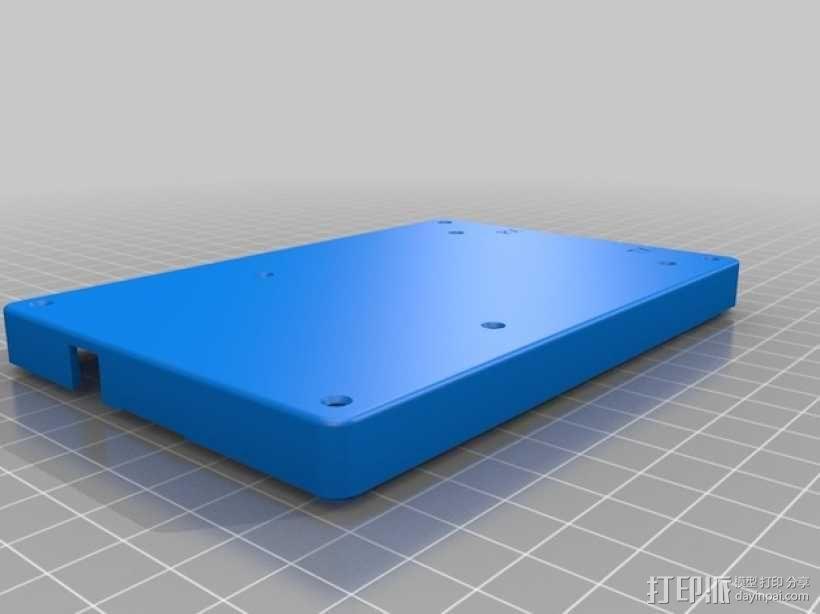 bladeRF电路板盒子 3D模型  图3