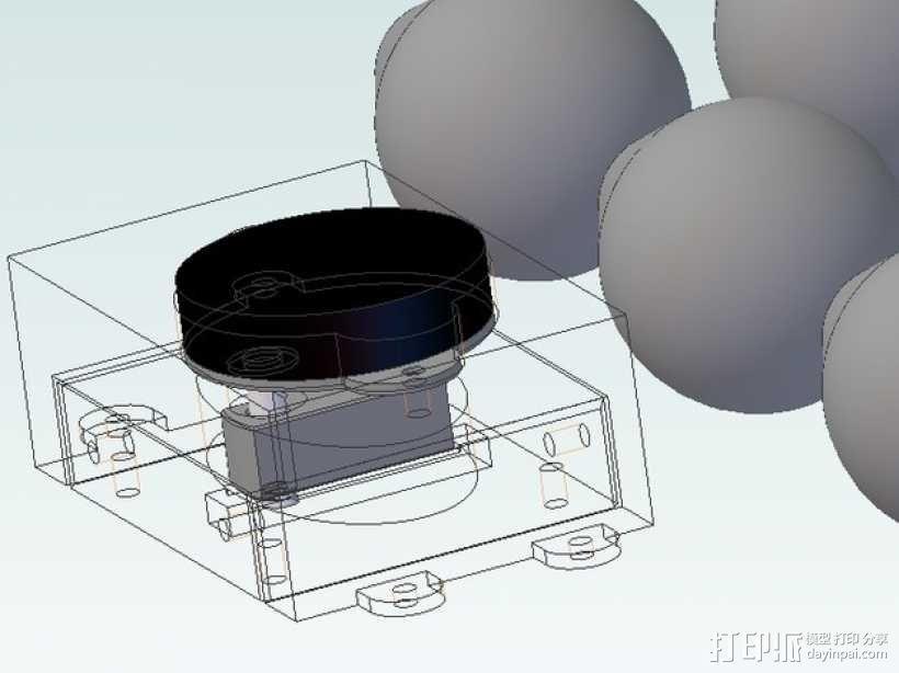 孵蛋机翻蛋器 3D模型  图1