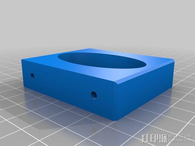 孵蛋机翻蛋器 3D模型  图4