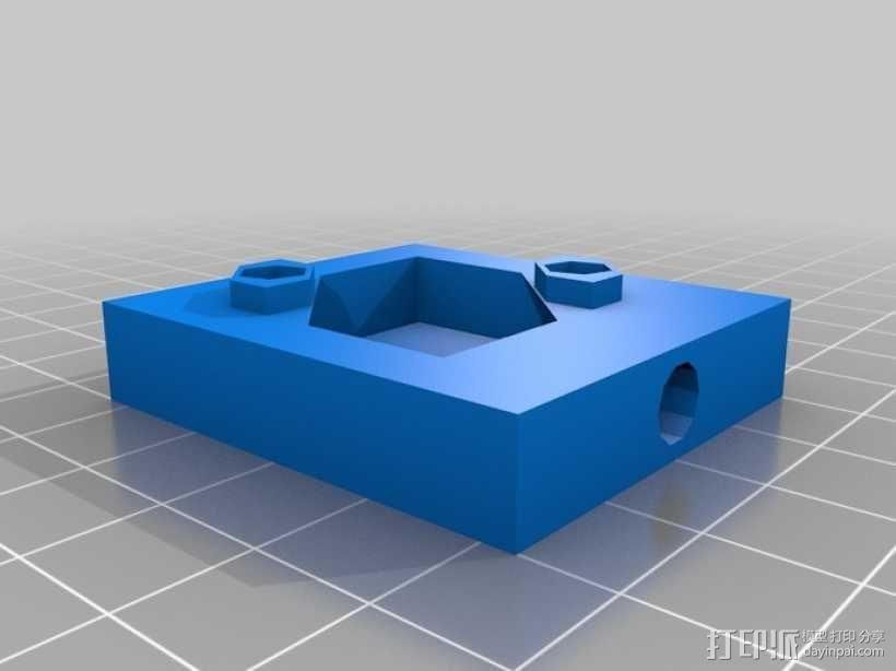 迈克尔逊干涉仪 3D模型  图6