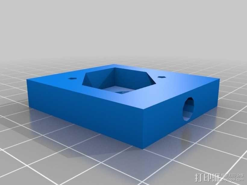 迈克尔逊干涉仪 3D模型  图7