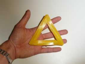 参数化潘洛斯三角形 3D模型