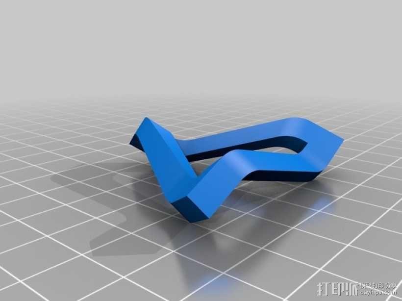 参数化潘洛斯三角形 3D模型  图5