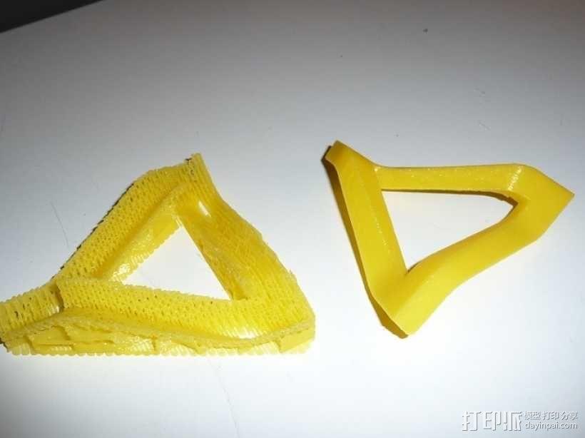 参数化潘洛斯三角形 3D模型  图3